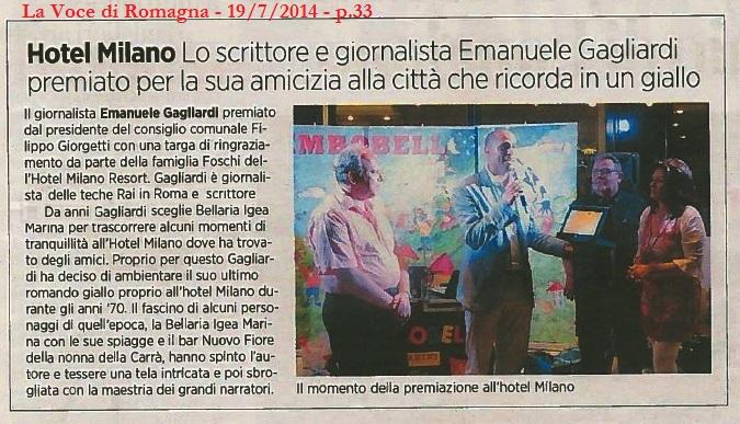 La Voce di Romagna - 19/7/2014 - p.33