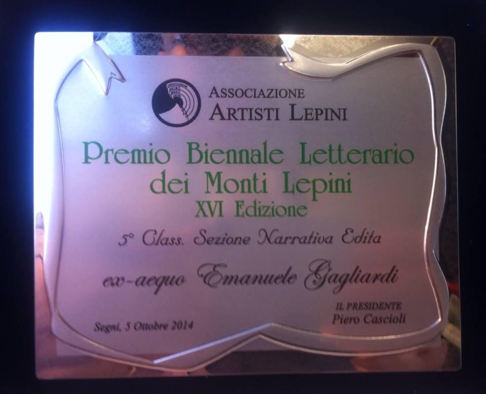 Targa Premio Mt. Lepini 2014